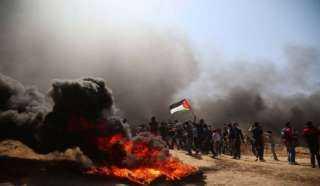 فلسطين ... 77 إصابة خلال قمع الاحتلال لمسيرات العودة