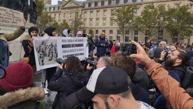 فرنسا ... مظاهرة في باريس لرفض العنصرية والإسلاموفوبيا