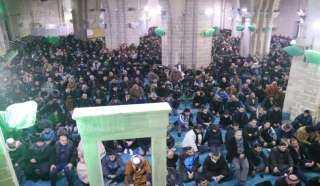 فلسطين ... الآلاف يؤدون صلاة الفجر في مساجد غزة إسنادا للمسجدين الأقصى والإبراهيمي
