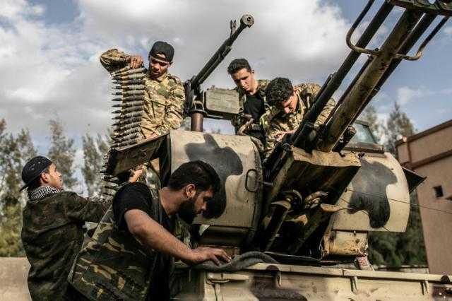 ليبيا ... قوات الوفاق تنتزع مواقع جديدة من حفتر