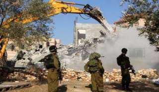 الاحتلال يجرف أراضي جنوب بيت لحم