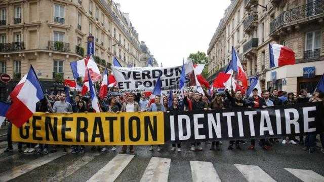 فرنسا.. حل جماعة إرهابية مناهضة للمهاجرين المسلمين