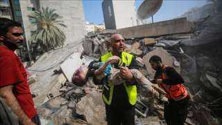 غزة ... مجزرة جديدة للاحتلال والمقاومة ترد بوابل من الصواريخ